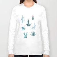 desert Long Sleeve T-shirts featuring Desert by Annet Weelink Design