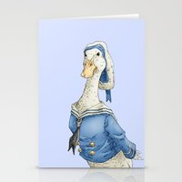 donald duck Stationery Cards featuring Real Life Donald Duck by onez