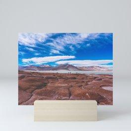 Piedras Rojas (Red Rocks), San Pedro de Atacama Desert, Chile Mini Art Print