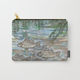 School of White Perch Carry-All Pouch