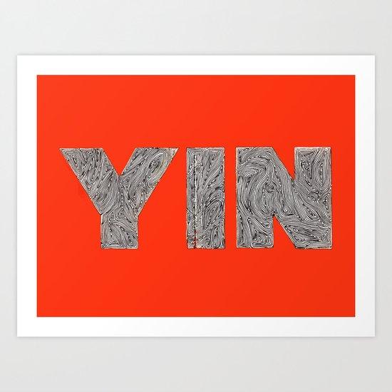 Yin Art Print