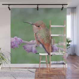 DO NOT Raid My Patch of Sage Wall Mural