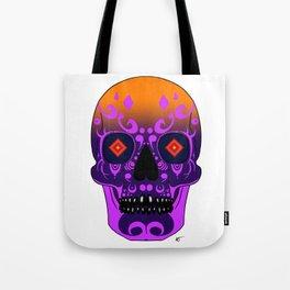 Sunset Skull Tote Bag