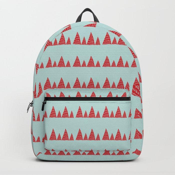 Funky christmas tree Backpack