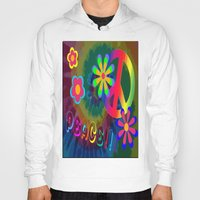 peace Hoodies featuring peace !!! by Shea33
