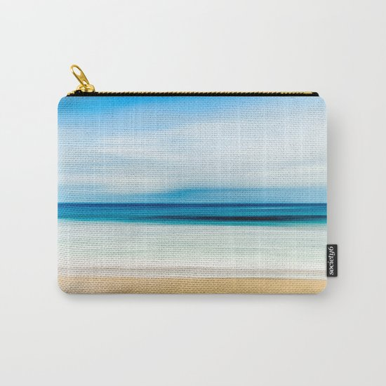 Beautiful Beach View Carry-All Pouch