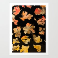 blossom note 2 Art Print