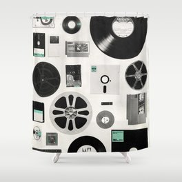 Data Shower Curtain