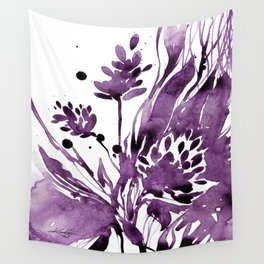 Organic Impressions No.104 by Kathy Morton Stanion Wall Tapestry