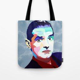 Portrait of Hans Holzel (Falco) Tote Bag