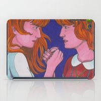 florence iPad Cases featuring Florence Vs. Florence by Anna Gogoleva