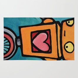 Robot - This Is Wobbly Love Rug
