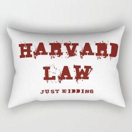 Harvard Law (Just Kidding) Rectangular Pillow