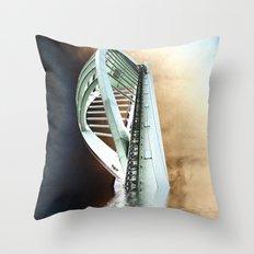 Spinnaker rising Throw Pillow