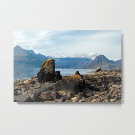 Scottish landscape of Isle of Skye Metal Print