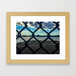 Gate-scape NYC Framed Art Print