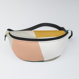 Abstract Geometric 27 Green Fanny Pack