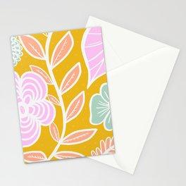 spring florals Stationery Cards
