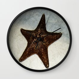 Star Fish Wall Clock