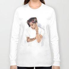 Zayn Floral Crown Long Sleeve T-shirt