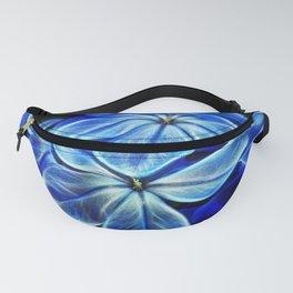 Blue Glow Fanny Pack