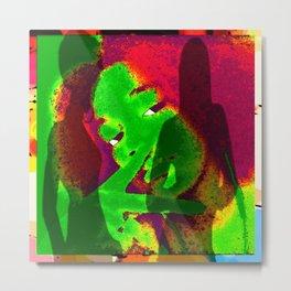 Cabsink17DesinerPatternMIMI Metal Print