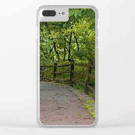 Perpetual Peace Clear iPhone Case