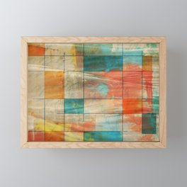 Mid-Century Modern Art 5.0 - Graffiti Framed Mini Art Print