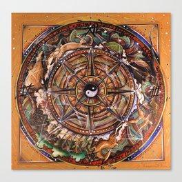 Progress Mandala Canvas Print