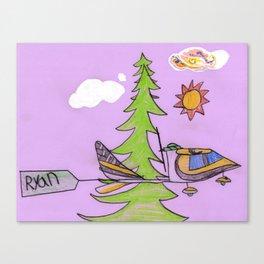 Tree-Top Flight Canvas Print
