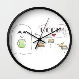 BOO(H)ks Wall Clock