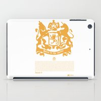 narnia iPad Cases featuring The King by John Choi King