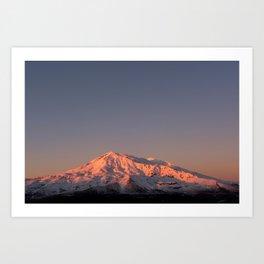 Mount Ruapehu Sunset Art Print