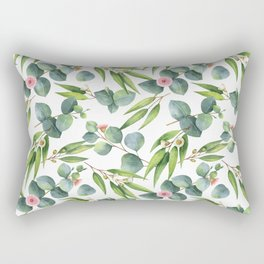 Bamboo and eucaliptus pattern Rectangular Pillow