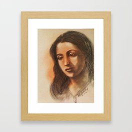 Suchithra Sen - Indian Film Actress Framed Art Print