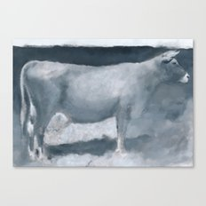 Impressions of a Brown Swiss Canvas Print
