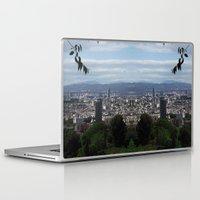 barcelona Laptop & iPad Skins featuring Barcelona by Rhianna Power