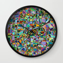 Emergence Refraction Wall Clock