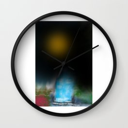 Whattheline artworks Wall Clock