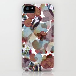 Girls on blossoms iPhone Case