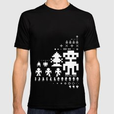 Robotron Black Mens Fitted Tee X-LARGE