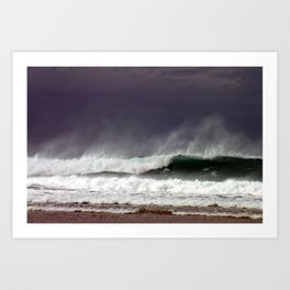 Surf Wave 2 Art Print