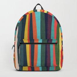 Mid-century zebra Backpack
