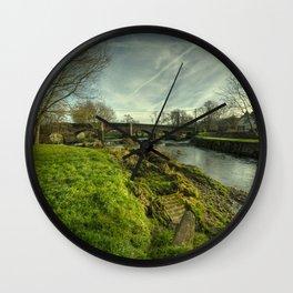 Culmstock Bridge Wall Clock