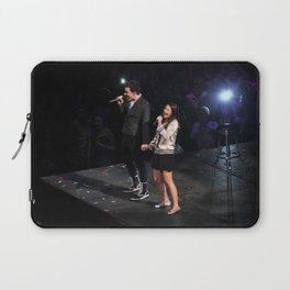 Glee Concert: Lea Michele and Chris Colfer Laptop Sleeve