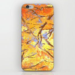 A Fire in the Trees iPhone Skin