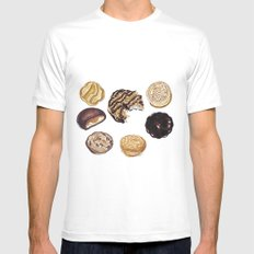 Girl Scout Cookies Mens Fitted Tee White MEDIUM