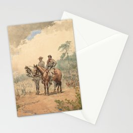 Winslow Homer's Two Scouts (1887) Stationery Cards