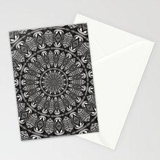 Monochrome Mandala Stationery Cards
