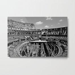 Colosseum b&w Metal Print
